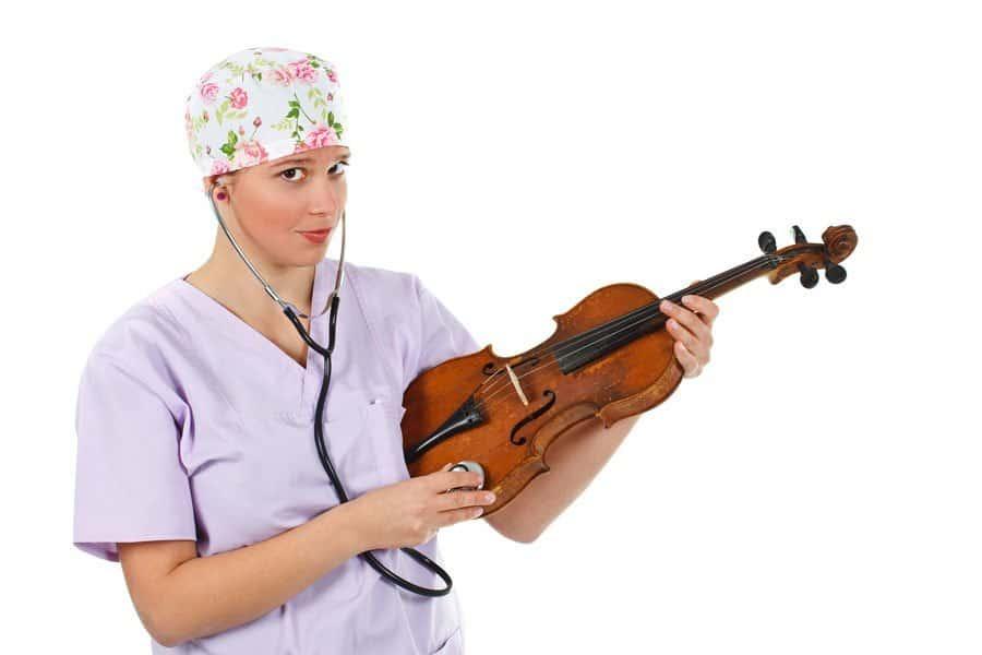 cuidar un violín 1