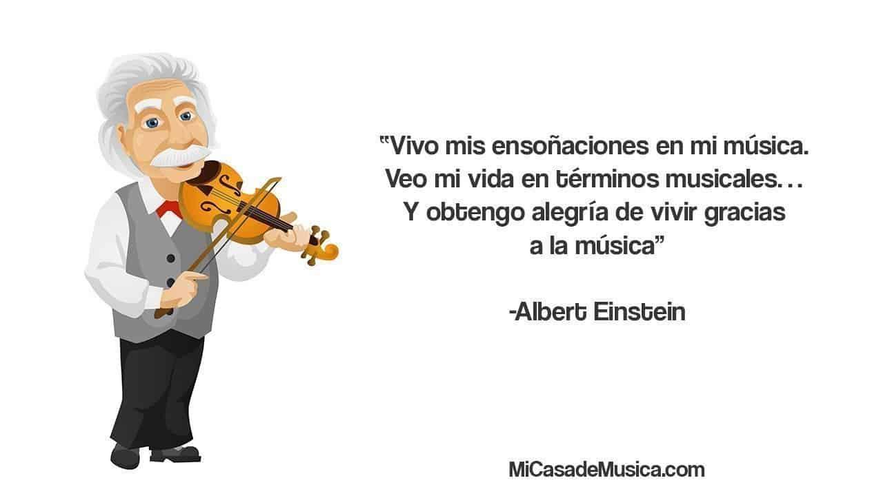 escuchar la música clásica 1 Albert einstein