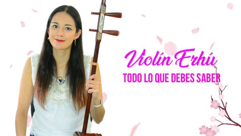 Violín Erhu Chino: Probándo su sonido.
