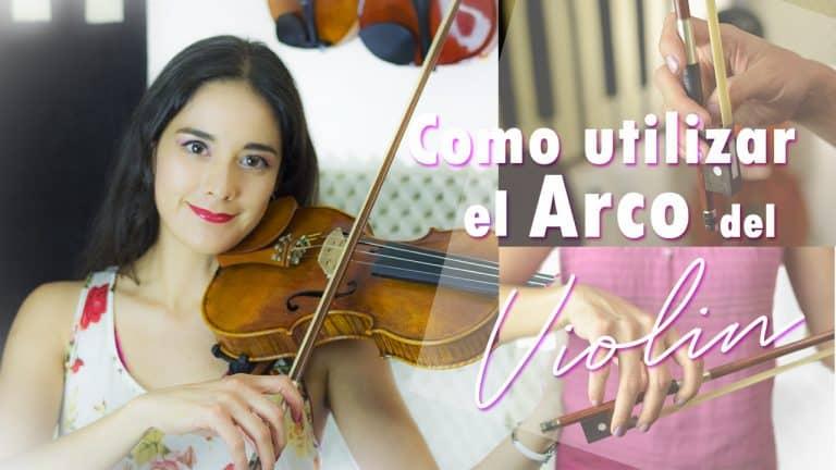 Cómo utilizar el arco del violín correctamente