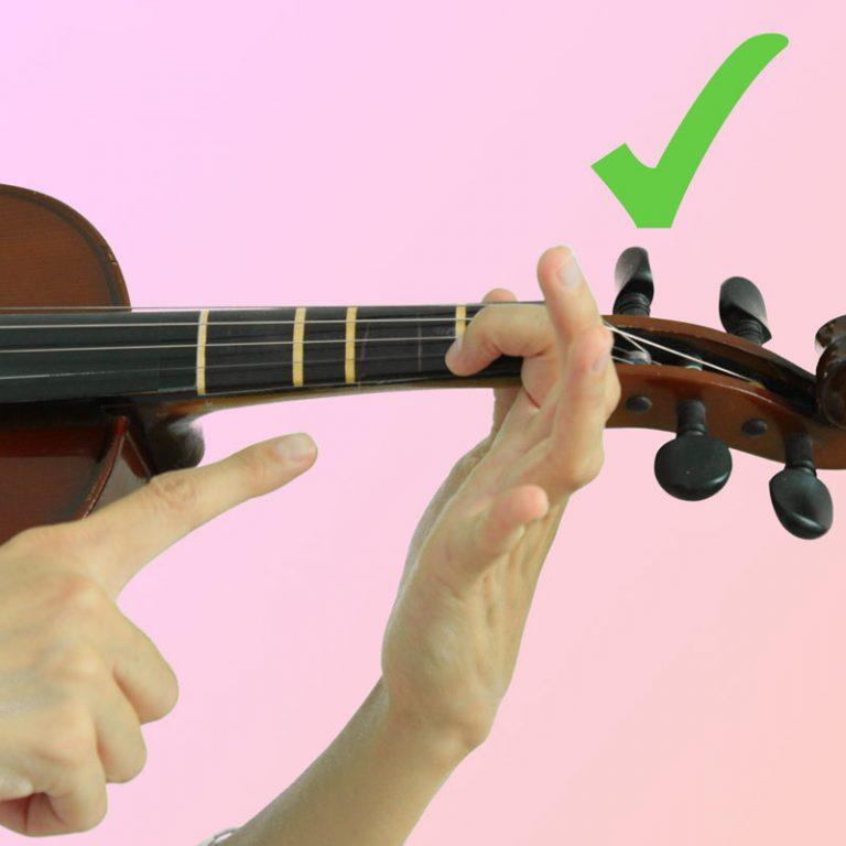 Como Colocar La Mano Izquierda del Violín Correctamente