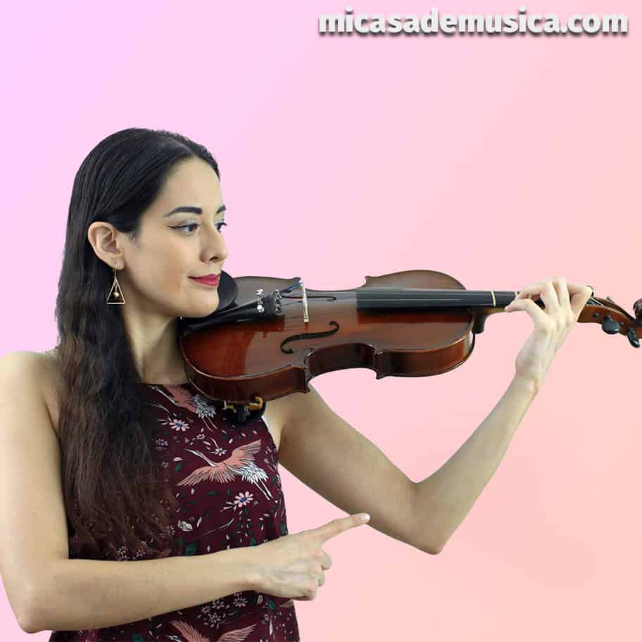medida de violín 3 - brazo y codo izquierdo