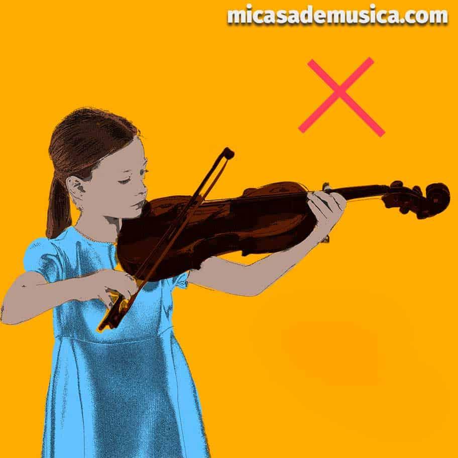 medida de violín 1 - violín muy grande