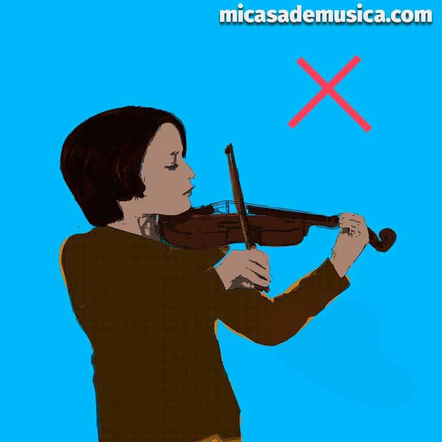 medida de violín 2 - violín muy pequeño